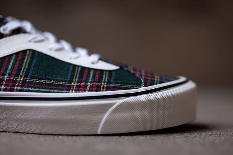 Vans Bold Ni Tartan Pack Red Green Sneakers