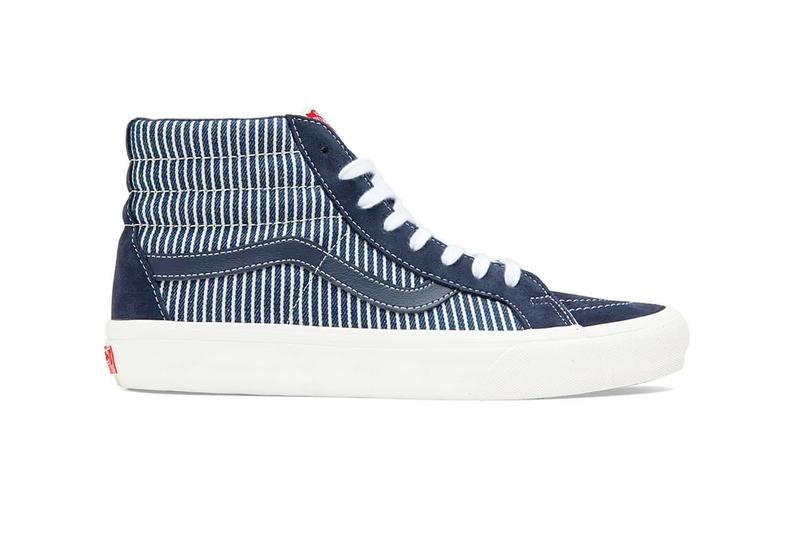 Vans Mt. Vernon Denim Pack Sk8 Hi Blue White