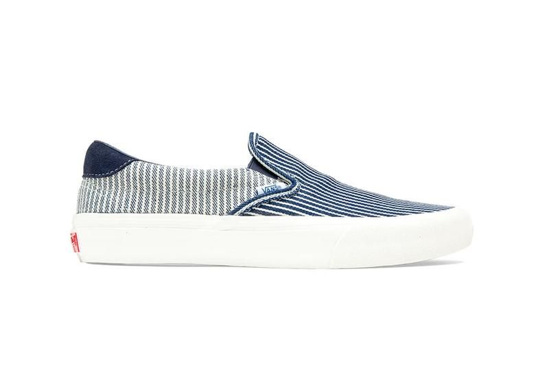 Vans Mt. Vernon Denim Pack Slip On Blue White