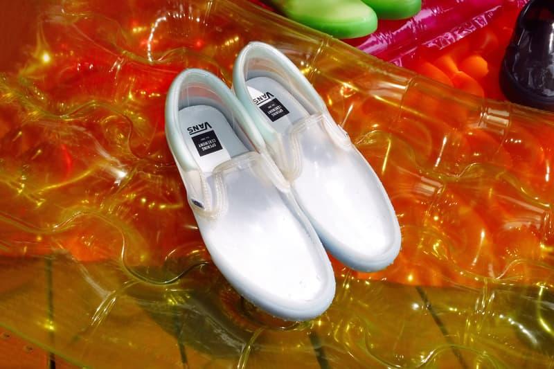 Vans x Opening Ceremony Transparent Pack Slip On White