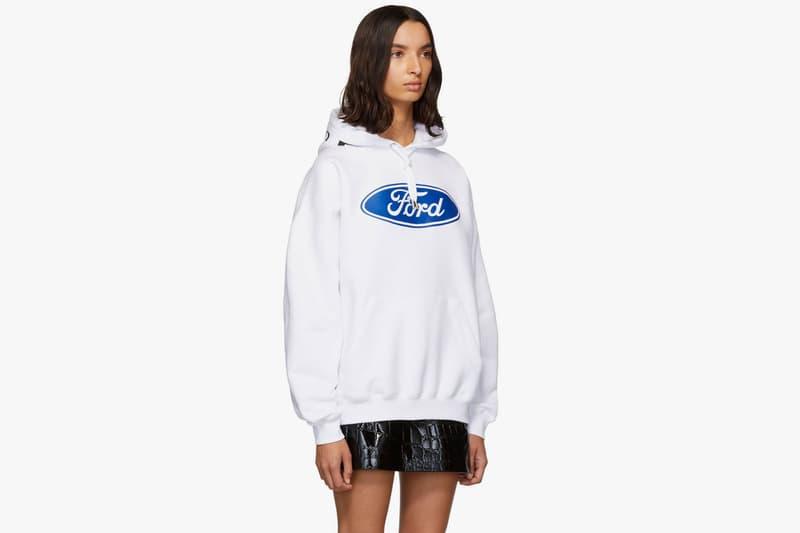 versace ford milan donatella t-shirt hoodie black white logo