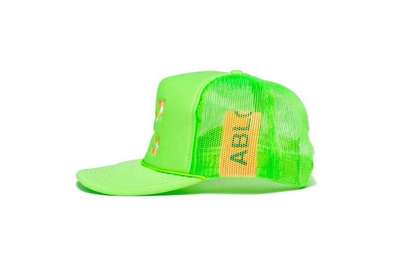 Virgil Abloh x MCA Chicago Figures of Speech Neon Collection Hat Green