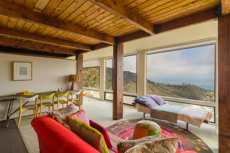 10 Most Wishlisted Airbnb Destinations in United States Hideaway in Malibu