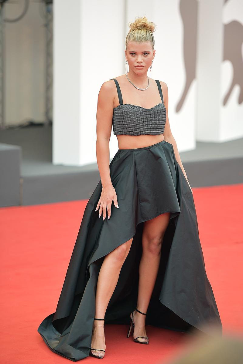 76th venice interinational film festival best celebrity looks red carpet sofia richie