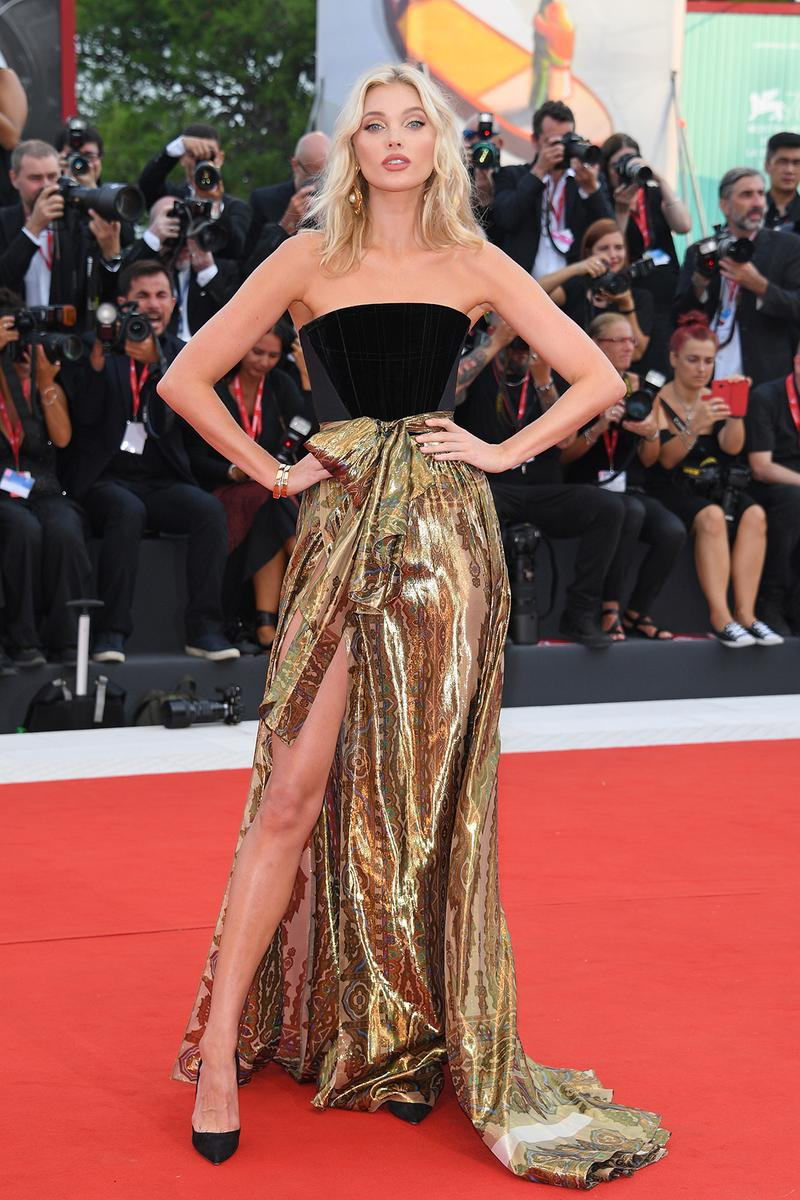 76th venice interinational film festival best celebrity looks red carpet elsa hosk