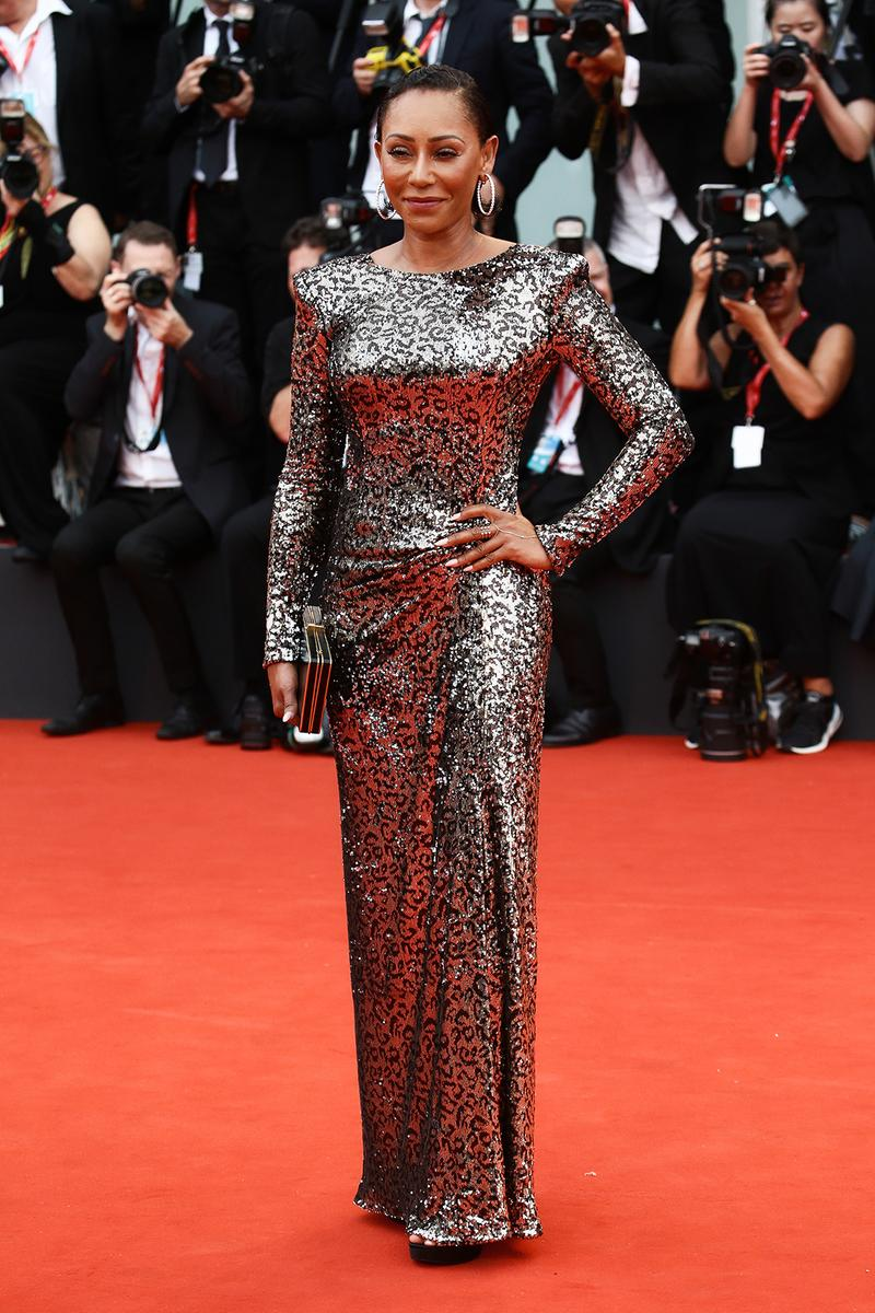 76th venice interinational film festival best celebrity looks red carpet mel b