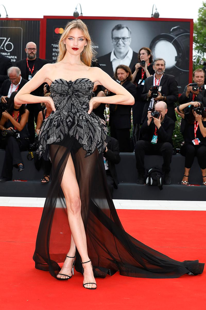 76th venice interinational film festival best celebrity looks red carpet martha hunt