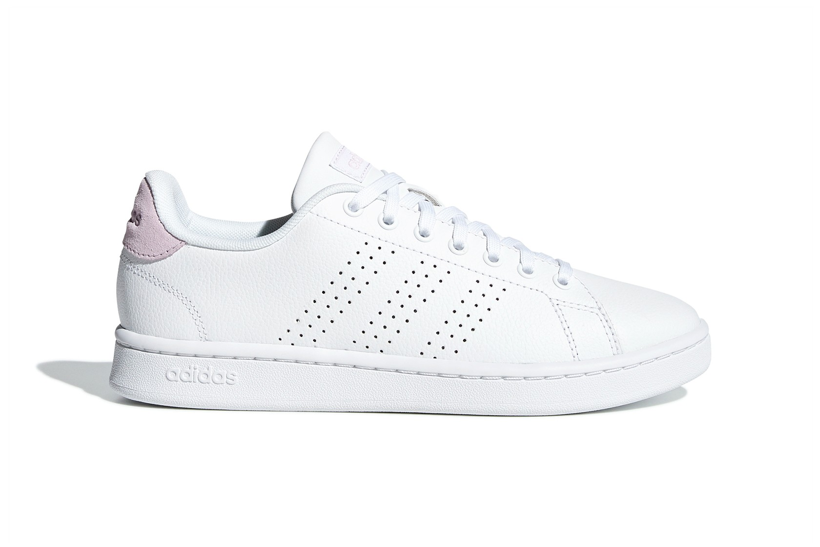 Advantage Shoe Is Cloud White and Pink