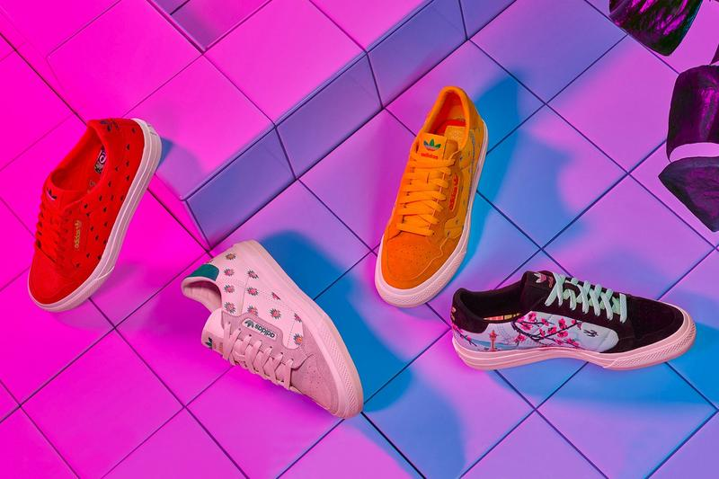 AriZona Ice Tea x adidas Collection Continental Vulc Orange Red White Blue Black
