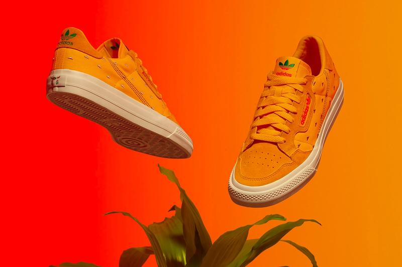 AriZona Ice Tea x adidas Collection Continental Vulc Orange White