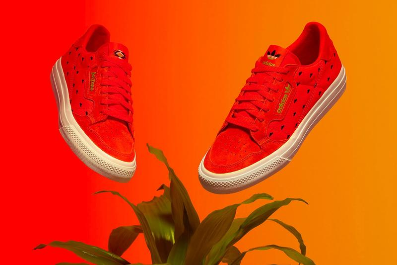 AriZona Ice Tea x adidas Collection Continental Vulc Red White