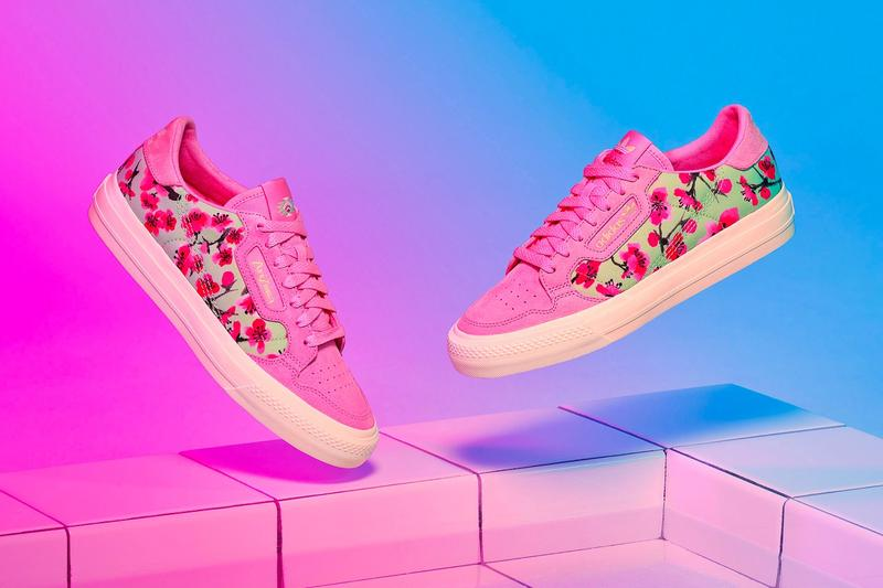 AriZona Ice Tea x adidas Collection Continental Vulc Pink White