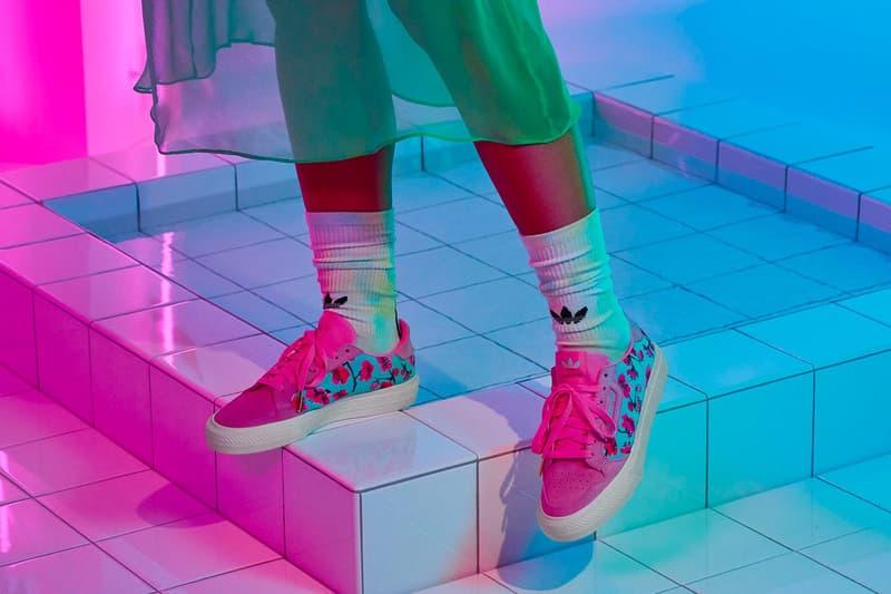 AriZona Ice Tea x adidas Collection Continental Vulc Pink White