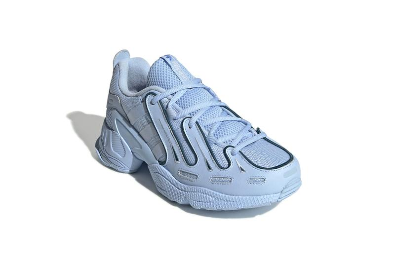 adidas originals eqt gazelle womens sneakers glow pastel blue