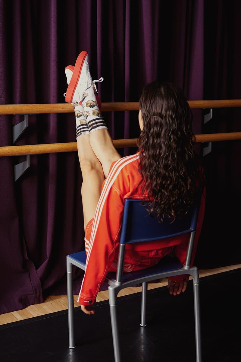 adidas originals fiorucci collaboration fall sleek super falcon zip womens sneakers fanny packs t-shirts