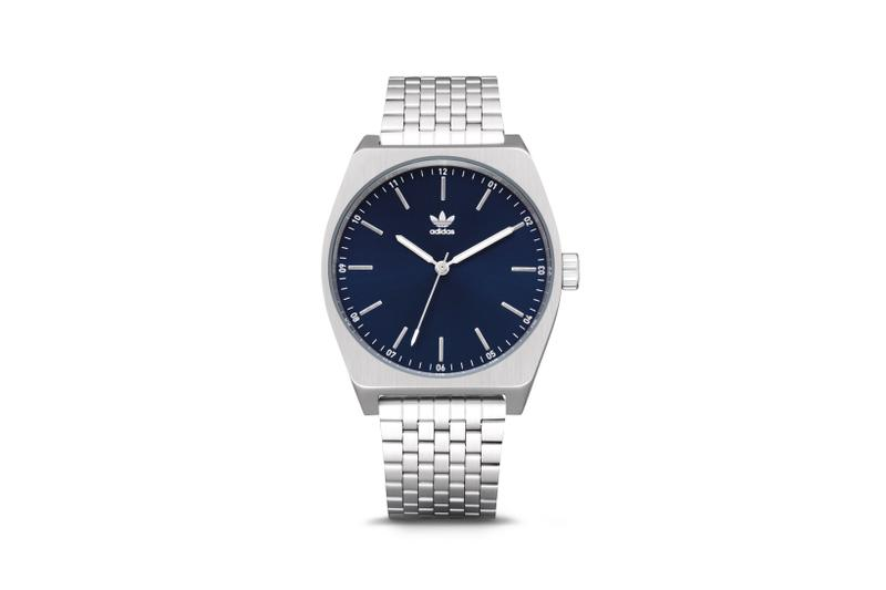 adidas Process M_1 Watch Silver Navy
