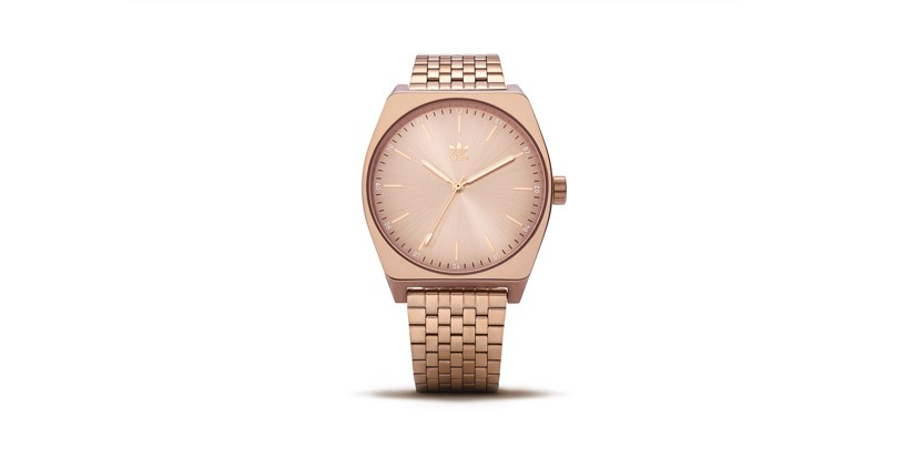 Move Over <b>Rolex</b>, adidas Drops an Affordable Rose Gold Watch