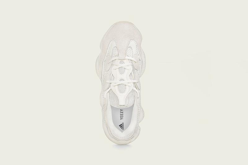 detailed look 084b0 ab435 adidas YEEZY 500 Bone White Official Release Date | HYPEBAE