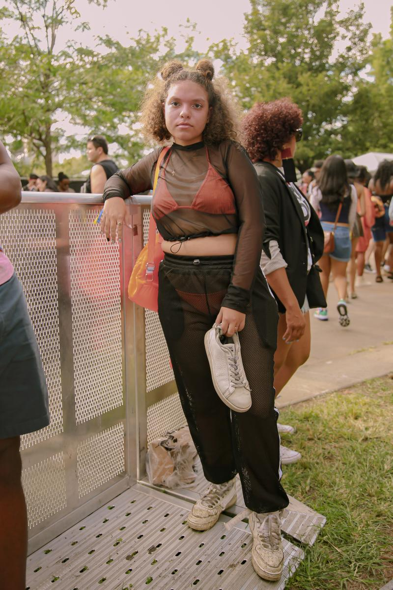 Afropunk 2019 Festival Street Style Top Pants Black