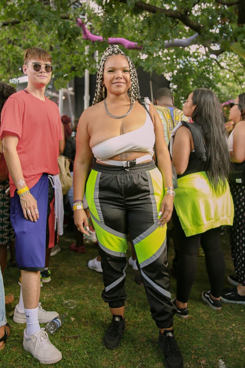 Afropunk 2019 Festival Street Style Top White Pants Black