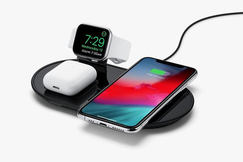 apple mophie 3-in-1 wireless charging pads iphone airpods watch technology