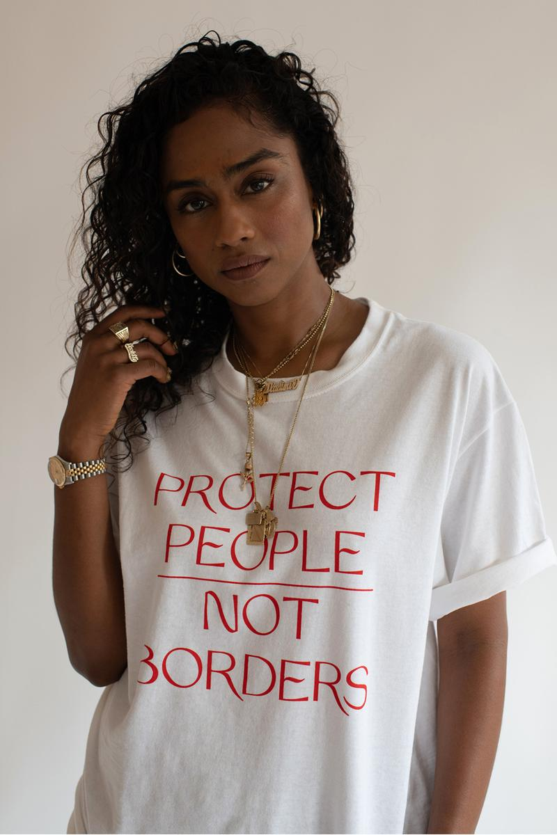 awake ny chroma protect people not borders migrant rights t-shirts immigration usa mexico