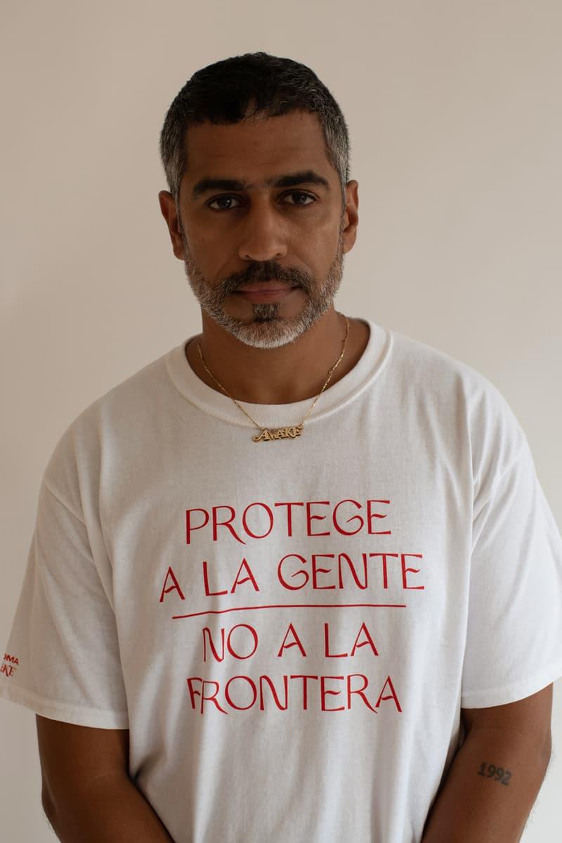 awake ny chroma protect people not borders migrant rights t-shirts immigration usa mexico