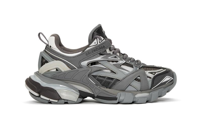 new concept new lifestyle info for Balenciaga's Track.2 Sneakers a Grey Colorway | HYPEBAE