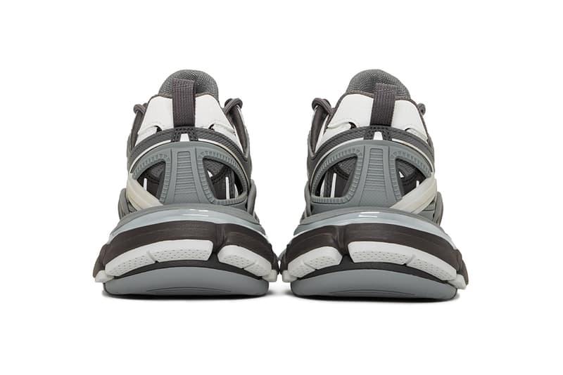 balenciaga track 2 sneakers grey black designer shoes footwear