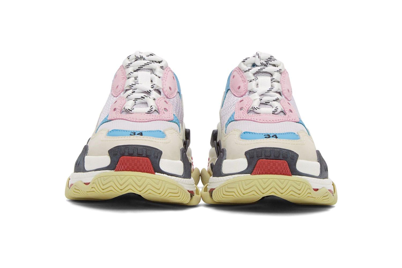 Balenciaga Triple S Shop Balenciaga Shoes Fila Sneakers
