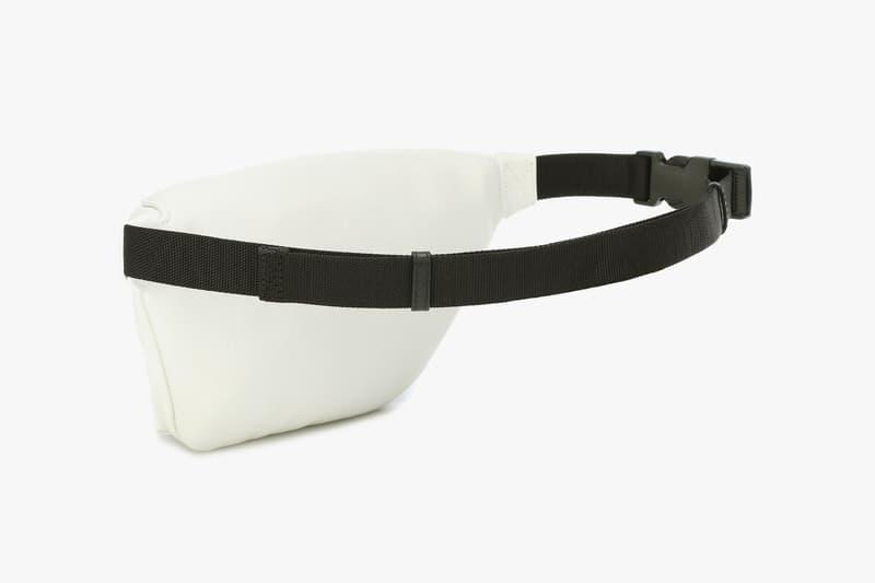 balenciaga logo belt bag white leather fanny pack designer purses