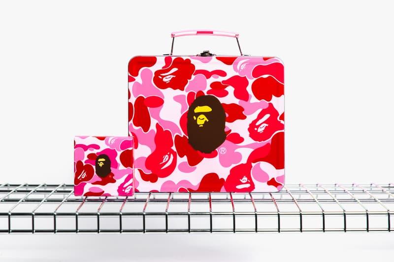 BAPE Pink Logo Mooncakes Mid Autumn Festival Sweet Treat Box Gift A Bathing Ape Celebration Hong Kong China Event Festival