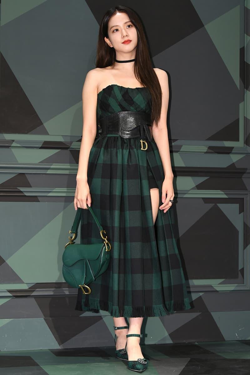 Best Celebrity Style Jisoo BLACKPINK Kylie Jenner Little Mix Jesy Nelson Anne-Marie Saint West GANNI adidas CL