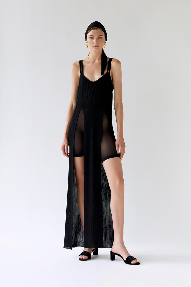 bevza spring summer lookbook black dress