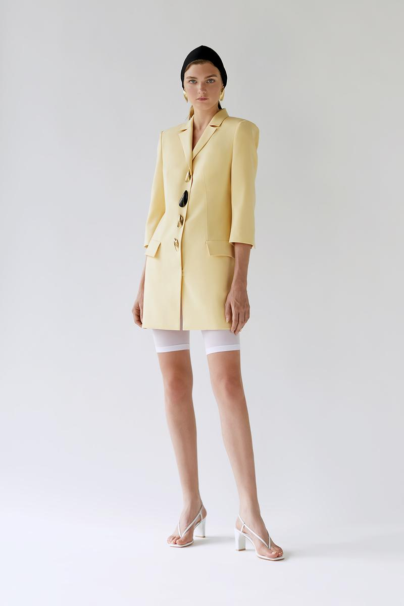 bevza spring summer lookbook yellow blazer