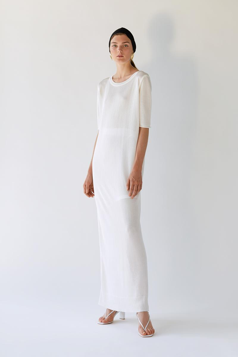 bevza spring summer lookbook white dress