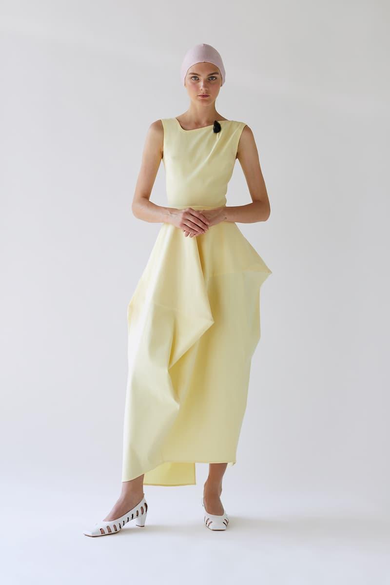 bevza spring summer lookbook yellow dress