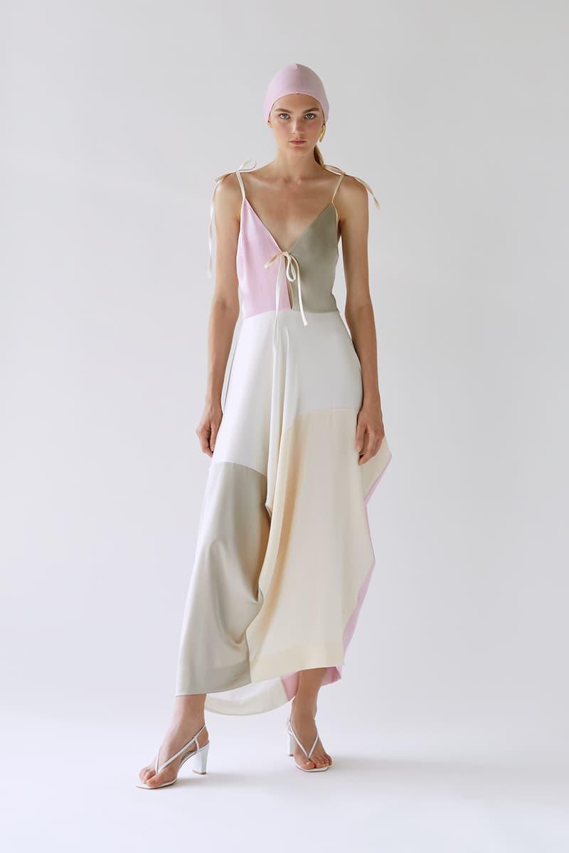 bevza spring summer lookbook pastel dress
