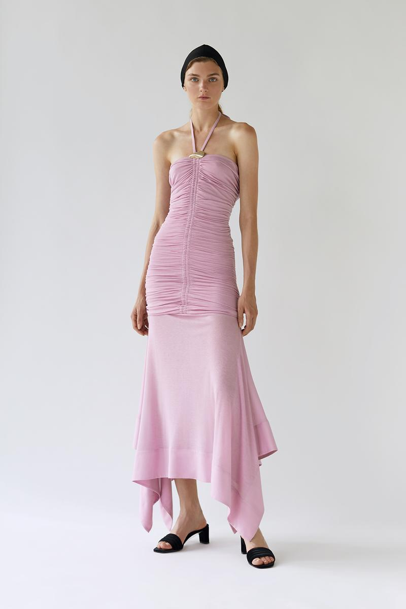 bevza spring summer lookbook pink dress