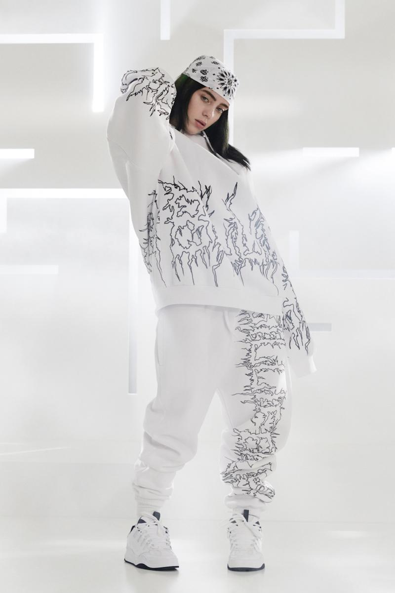 Billie Eilish Bershka Collection Collaboration Lookbook Pieces Release Date Merch Fan Fashion