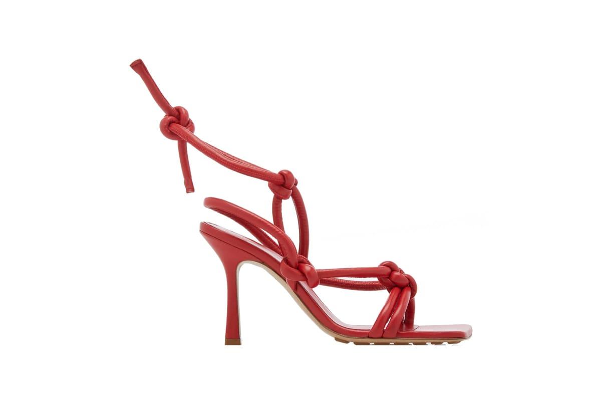 Bottega Veneta's Knotted Sandals Are