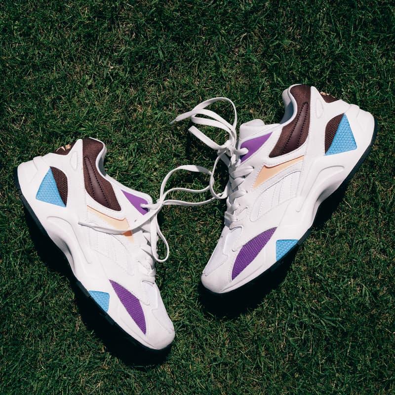 cardi b reebok aztrek double sneaker campaign