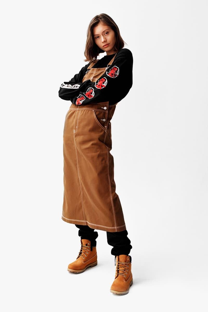 carhartt wip fall winter collection lookbook michigan chore coat detroit jacket hoodies sweatshirts