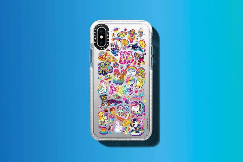 casetify lisa frank collaboration phone cases apple iphone samsung android phone airpods macbook ipad accessories tech stickers throwback childhood