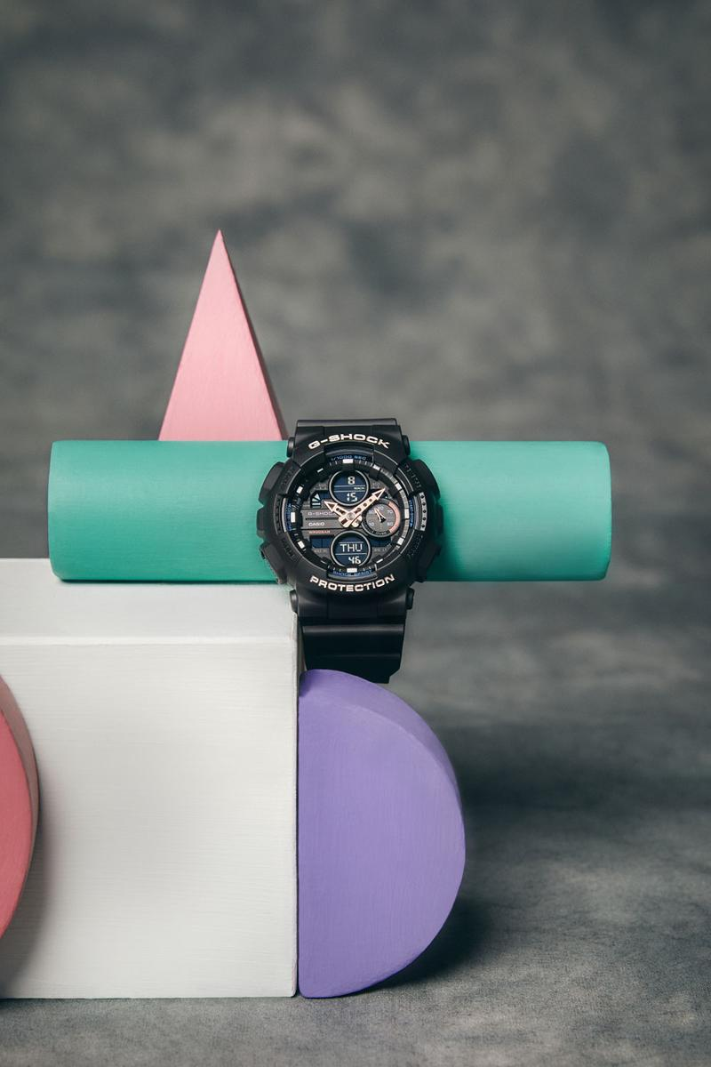 Casio G Shock Watch GMAS140-1A Spring Summer 2019 Lookbook