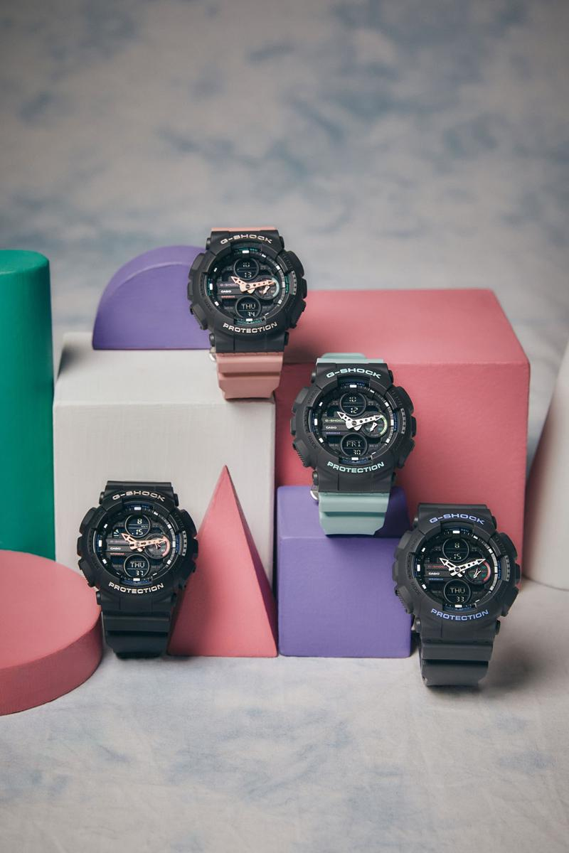 Casio G Shock Watch GMAS140-1A GMAS140- 4A Spring Summer 2019 Lookbook