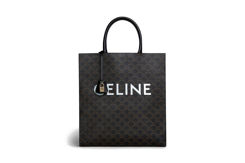 CELINE Logo Carry Bag Hedi Slimane Print Design Arc De Triomphe Inspired Heritage Fashion Luxury Accessory