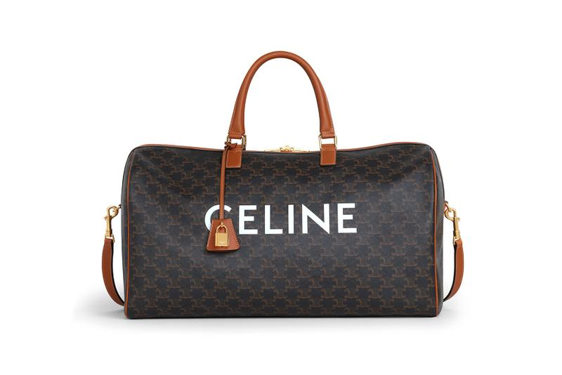 celine triomphe canvas essentiels collection hedi slimane haute maroquinerie designer luggage bags accessories