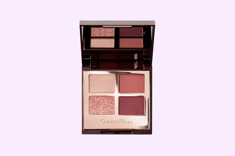 charlotte tilbury walk of shame eyeshadow palette pink matte sparkly makeup beauty