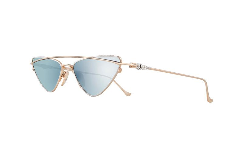 Chrome Hearts Fall Winter 2019 Sunglasses Collection BOOBGEOISIE Blue Gold